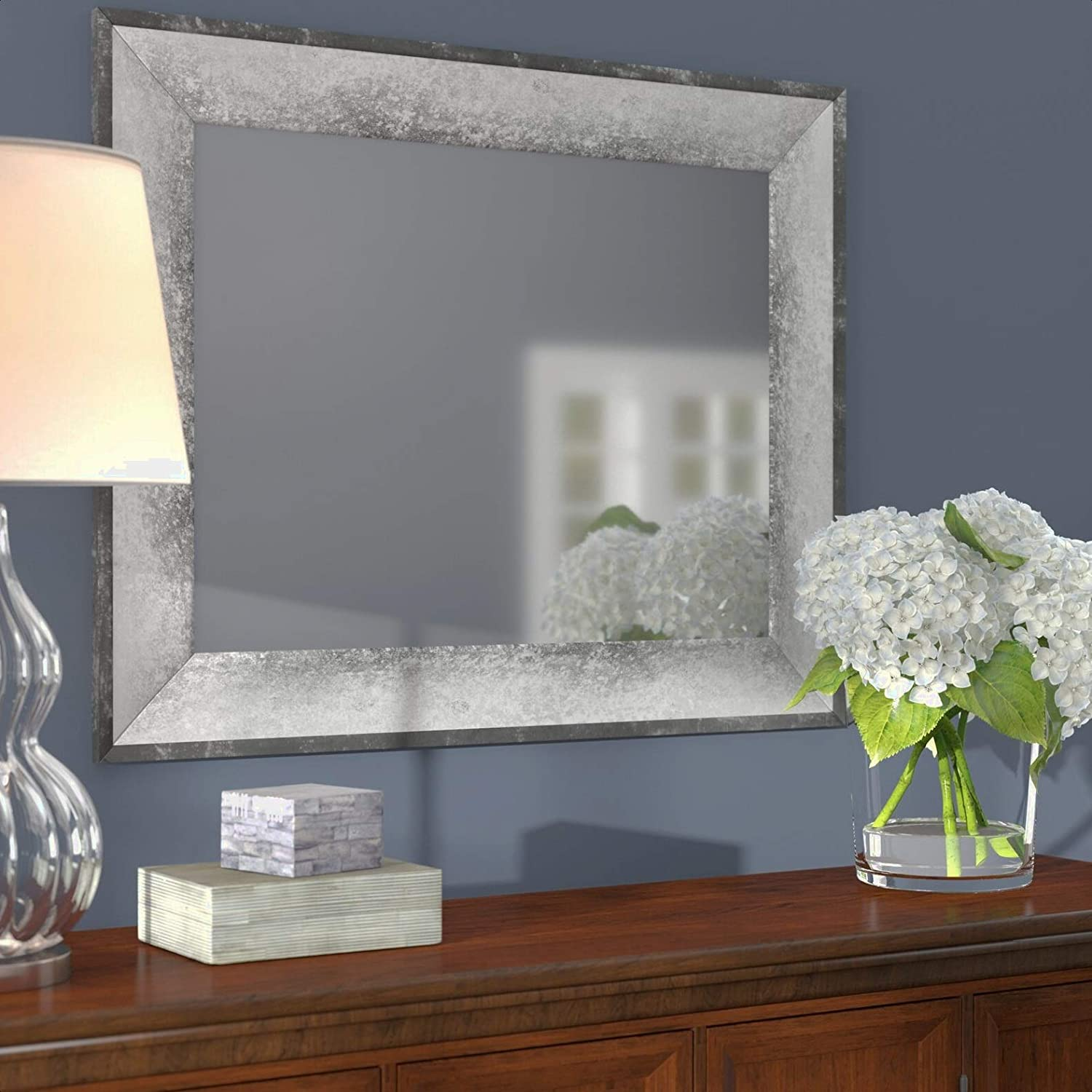 Modern Contemporary Bathroom Bombing free shipping Mirror Yes Max 86% OFF Framed: