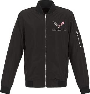 Jh Design Men's Chevy Corvette Jacket Lightweight Zip-Up Nylon Coat