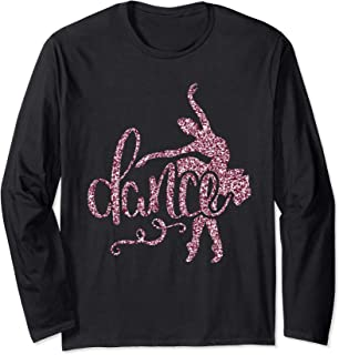 Ballet Danse Ballerine Cadeau Femmes Filles Enfants Manche Longue