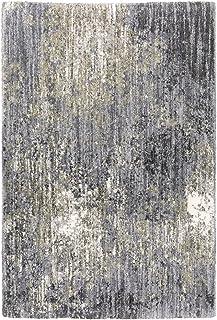 "Moretti Glyph Area Rug 2060W Shag Grey Faded Shaded 9' 10"" x 12' 10"" Rectangle"