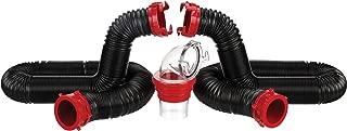 Valterra Black 20 Ft Kit D04-0275 Dominator Sewer Hose Kit-20'
