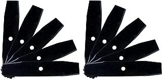 10 Edger Blades Heat Treated for Tanaka Sunbelt Stens Prime Line Oregon Mclane Lesco Green Meadows Line Edgewater