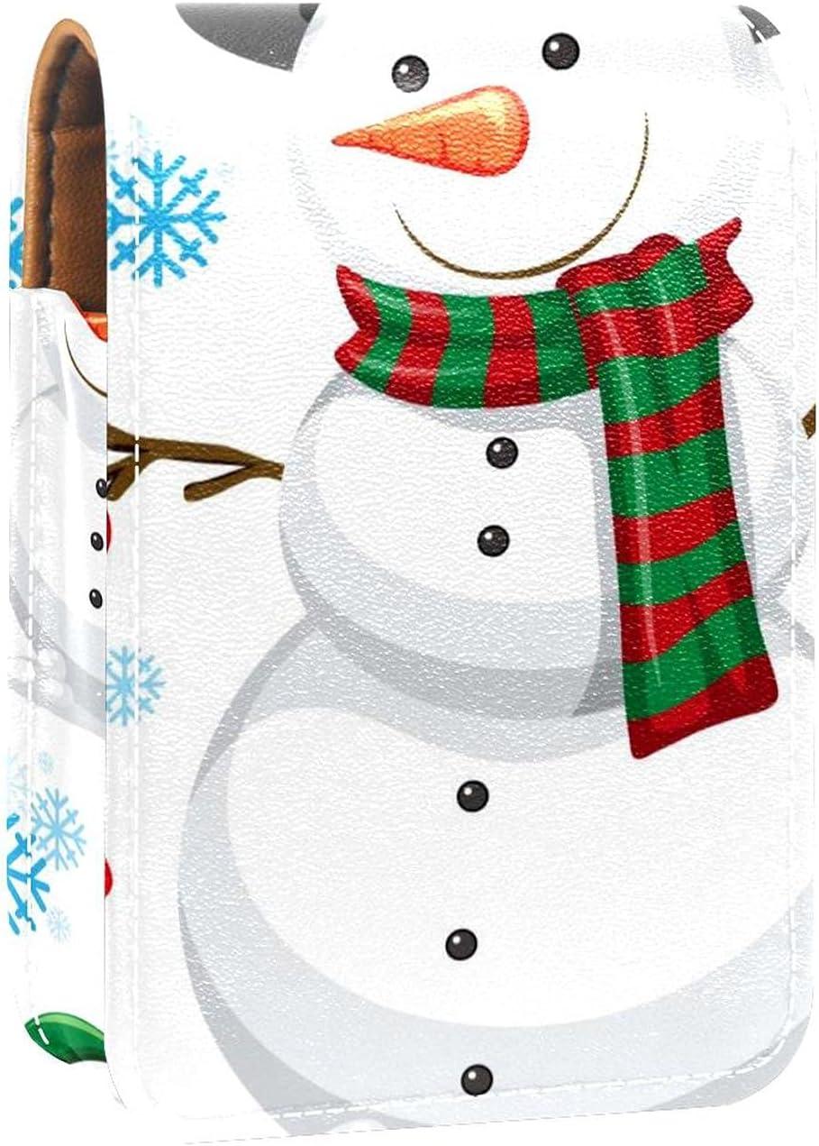 Winter Snowman Christmas Popular standard Courier shipping free Cute Lip Por Lipstick Gloss Holder Case