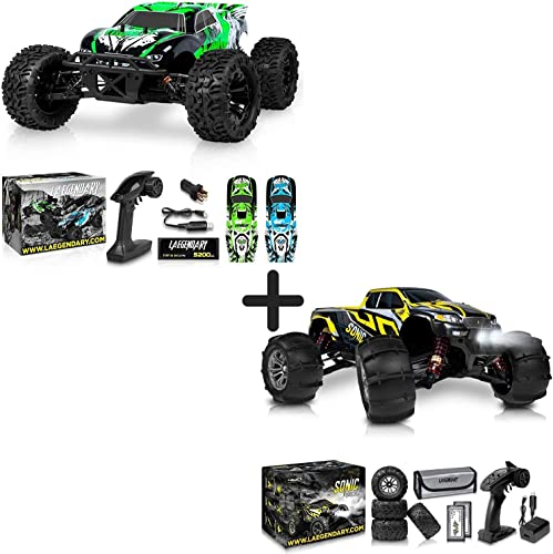 2021 1:10 Scale Brushless RC Cars 65 km/h Speed and 1:16 Brushless Large RC sale Cars 60+ kmh - Kids and Adults Remote Control Car 4x4 Off Road Monster Truck Electric new arrival - Waterproof Toys Trucks - 2 Batteries outlet online sale