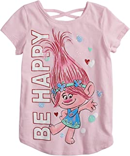 Jumping Beans Little Girls' 4-12 Poppy Be Happy Tee