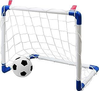 池田工業社 サッカー ゴールセット アドバンス ゴール一式×1・サッカーボール×1・ポンプ×1付属 ゴールサイズW50×H40×D30cm 000055750