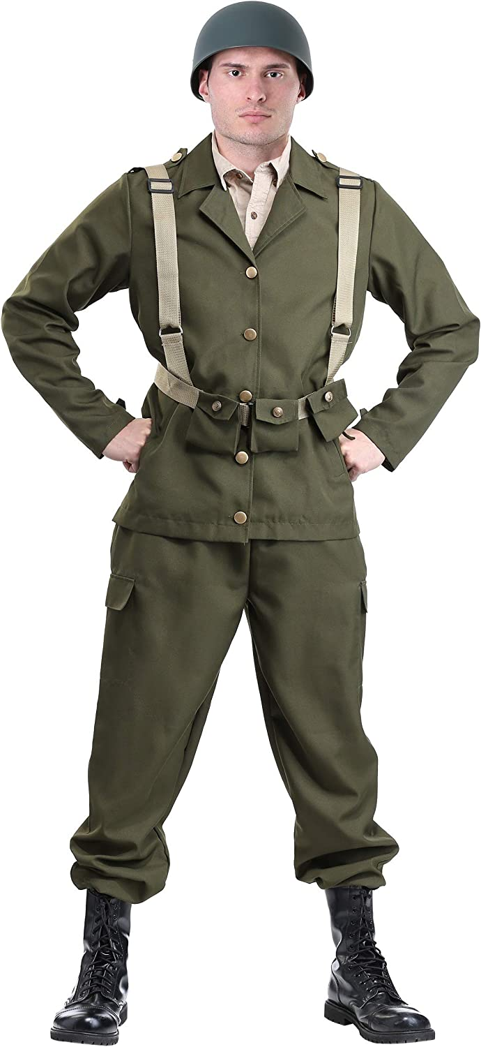 Deluxe WW2 Costume Soldier 67% Limited Special Price OFF of fixed price