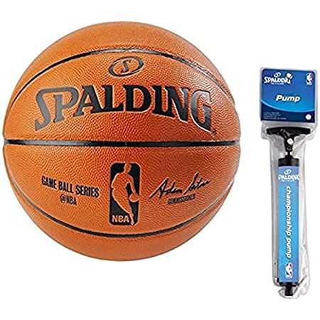 Spalding Basketball Indoor//Outdoor Ball TF-250 DBB Gr/ö/ße 7 Ballpumpe