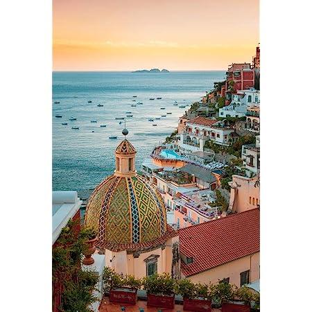 Italy  European Travel Print NEW POSTER Amalfi Coast