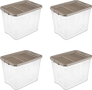 Best sterilite 27 gallon stacker box black Reviews