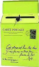 Vintage Retro Muurbevestiging Mailbox Mail Postbrief Krantendoos Waterdichte Vintage Retro Muurbevestiging (Kleur: Groen)