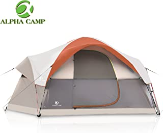 ALPHA CAMP Dome Family Tent Camping Tent - 14' x 10'