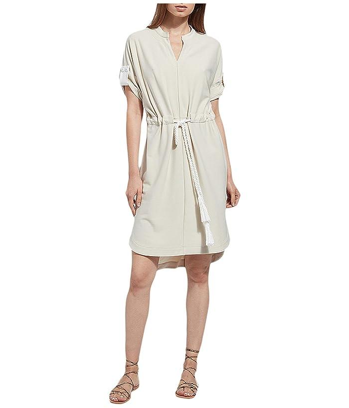 Lysse  Saffron Dress in Stretch Crepe (Biscotti) Womens Dress