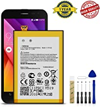 for ASUS ZenFone 2 ZE551ML, Z00AD, Z008D, Z00ABD Replacement Battery C11P1424 Free Adhesive Tool