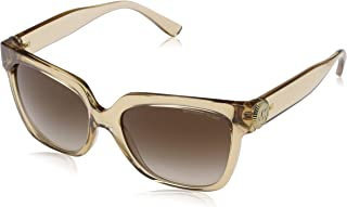 Michael Kors Sunglasse for Women, Wayfarer, Brown