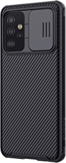 Case with Camera Cover Protection Designed For Samsung Galaxy A52 Slim Thin Case Hard PC Back and Soft Silicone Edge Prote...