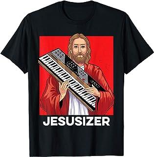 Jesusizer Holy Synthesizer Analog Jesus Synth Music Nerd Camiseta