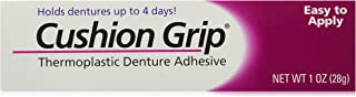 Cushion Grip Thermoplastic Denture Adhesive - 1 oz (Pack of 2)