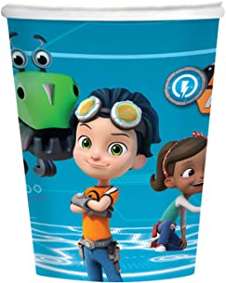 Amscan International Amscan 9904158 250ml Paper Cups 8 Pack Rusty Rivets, Colour