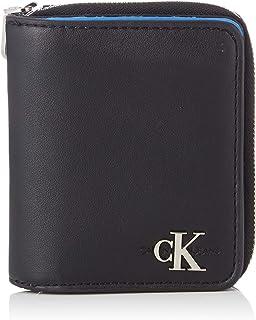 Calvin Klein Monogram Hardware FR Wallet, Black, 12 cm, K60K606163