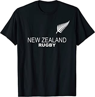 New Zealand Rugby Jersey Tshirt Tee