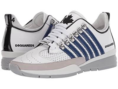 DSQUARED2 251 Sneaker (White/Blue) Men