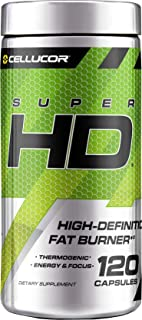 Superhd Weight Loss Capsules | Supplement for Men & Women with Nootropic Focus Plus 160mg Caffeine | 120 Capsules