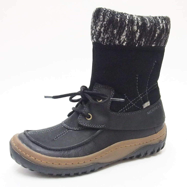 ぼかすコンパイル切り刻む[メレル] デコラボレロ ブラック 69286(レディース) 防水ブーツ