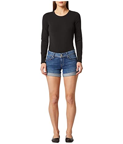 Hudson Jeans Croxley Cuffed Shorts in Reaction (Reaction) Women