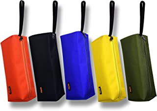 SKYUS 5-color Zipper Utility Tool Bag,Small Zipper Bags/Multi-purpose Tool Pouch Tote Bags Storage Organizer for Screwdriv...