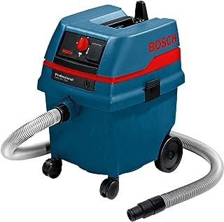 Bosch Professional GAS 25 SFC - Aspirador seco/h?medo (1200 W, capacidad 25 l, manguera 3 m, SFC, 248 mbar)