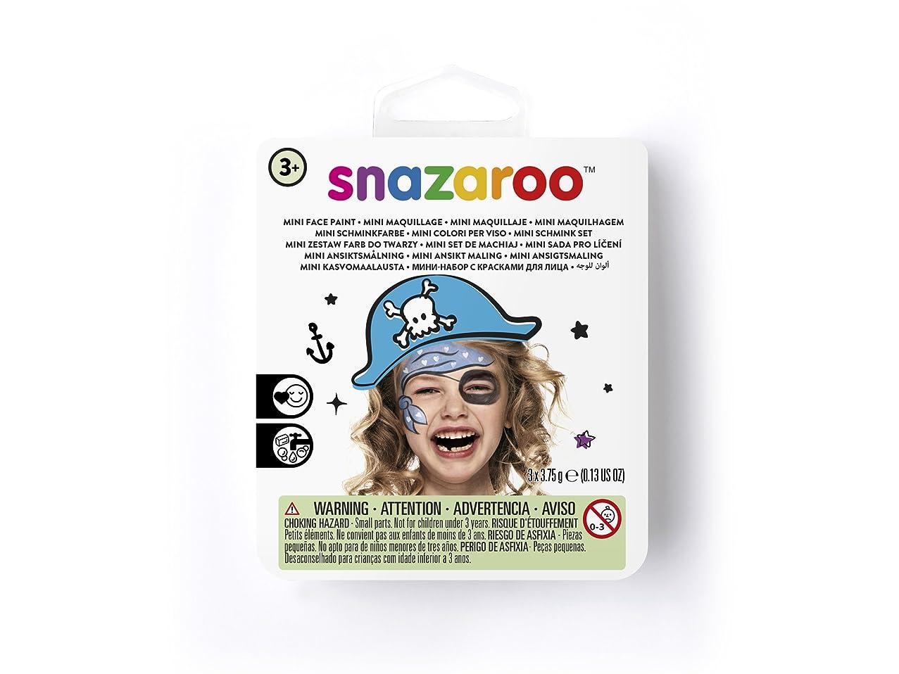 Snazaroo Blue Pirate Face Paint Theme Kit