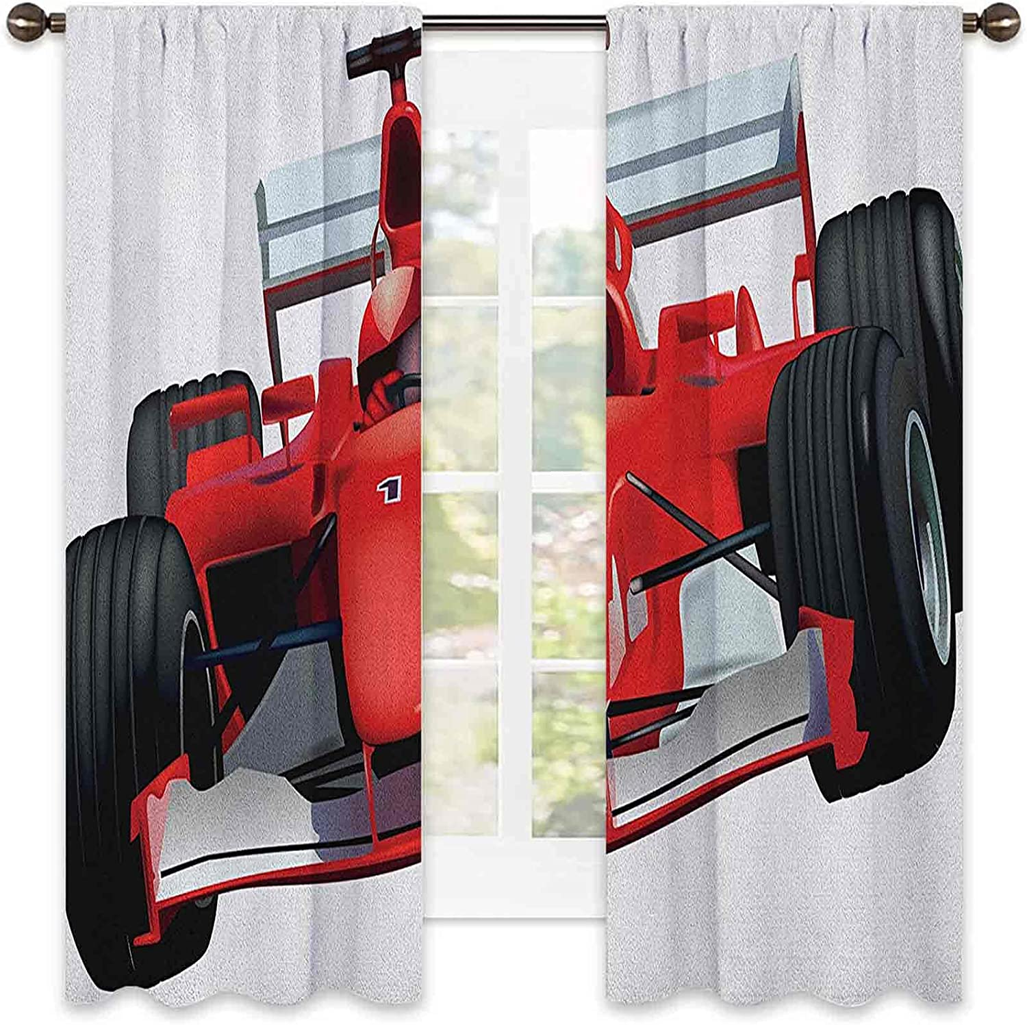 Cars Wear Resistant Color Curtain Formula The Animer and sale price revision Race with Dri Car