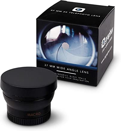 $39 Get Wide Angle Lens 37mm Attaches to Any iOgrapher Filmmaking Case or 37mm Mount for High Definition Video Recording - Includes Macro Lens
