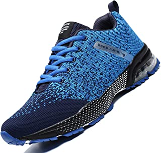 Zeoku Mens Running Shoes Fashion Breathable Air Cushion Sneakers Lightweight Tennis Sport Casual Walking Athletic for Men ...
