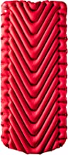 Klymit Insulated Static V Luxe Air Mattress, Red/Char Black, X-Large
