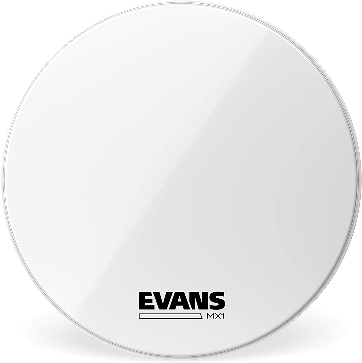 Super intense SALE Evans MX1 White Marching Bass Max 52% OFF Drum Inch 30 Head