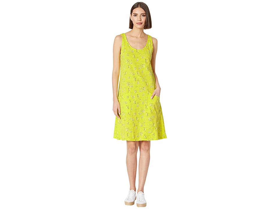 Fresh Produce Seaside Escape Drape Dress (Lemon Drop Yellow) Women