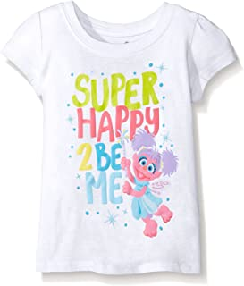 Sesame Street Girls' Short Sleeve T-Shirt Shirt