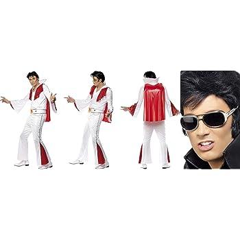 Fancy Dress World Elvis Presley 29150 29157 - Disfraz de Elvis ...