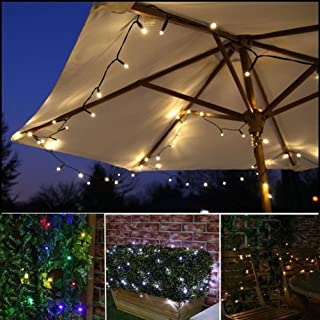 52m 500 LEDs Solar String Lights Outdoor Waterproof Fairy Light String with Solar Panel for Christmas Home Wedding Party B...
