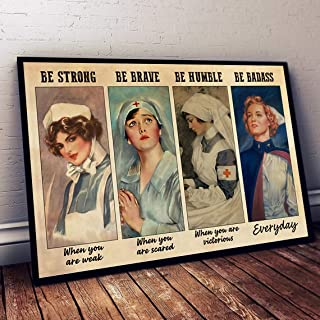 Nurse Poster Esther.414 This Is The Moment You Created Wall Art Home Decor Gift Art No Frame Hot Nurse Poster