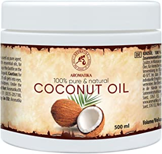 comprar comparacion Aceite de Coco 500ml - Coco Nucifera - Indonesia - 100% Puro y Natural - Prensado en Frío - Mejores Beneficios para Cuidad...