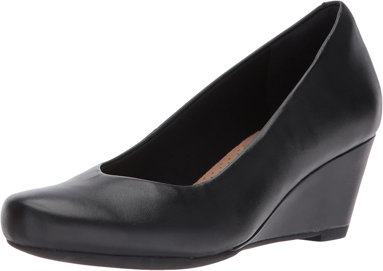 Clarks , , , Damen Turnschuhe schwarz schwarz Leather  46a2cb
