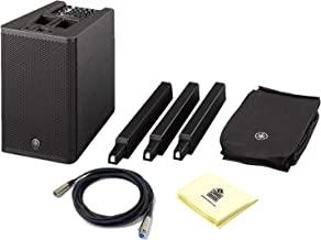 Yamaha STAGEPAS 1K Portable 1000W All in One Column PA System with 12