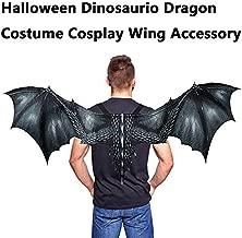 m·kvfa Fantasy Halloween Dinosaurio Dragon Costume Cosplay Animal Wing Accessory for Kids Child Adult