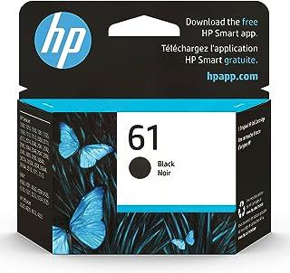 HP 61 | Ink Cartridge | Black | Works with HP DeskJet 1000 1500 2050 2500 3000 3500 Series, HP ENVY 4500 5500 Series, HP O...