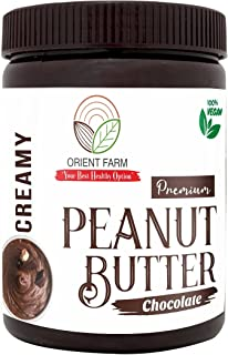 Orient Farm Peanut Butter | Chocolate Flavour | Creamy | 1KG | Made with Premium Chocolate | 100% Roasted Peanut | Vegan |...