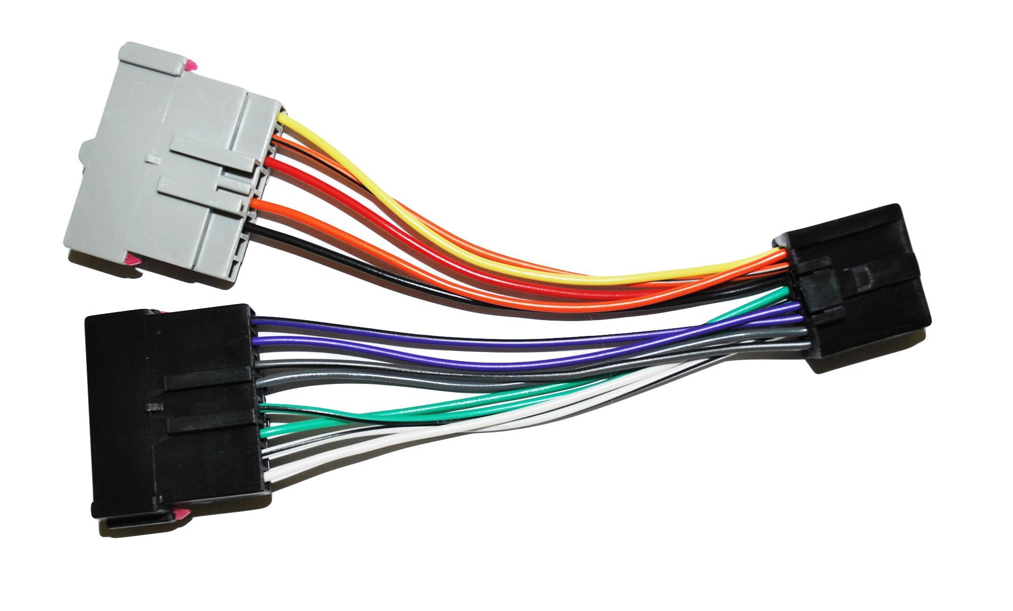 Amazon.com: Custom Install Parts Radio Adapter Wire Wiring Harness Old to  Factory Stereo Install Compatible with Ford: Car ElectronicsAmazon.com
