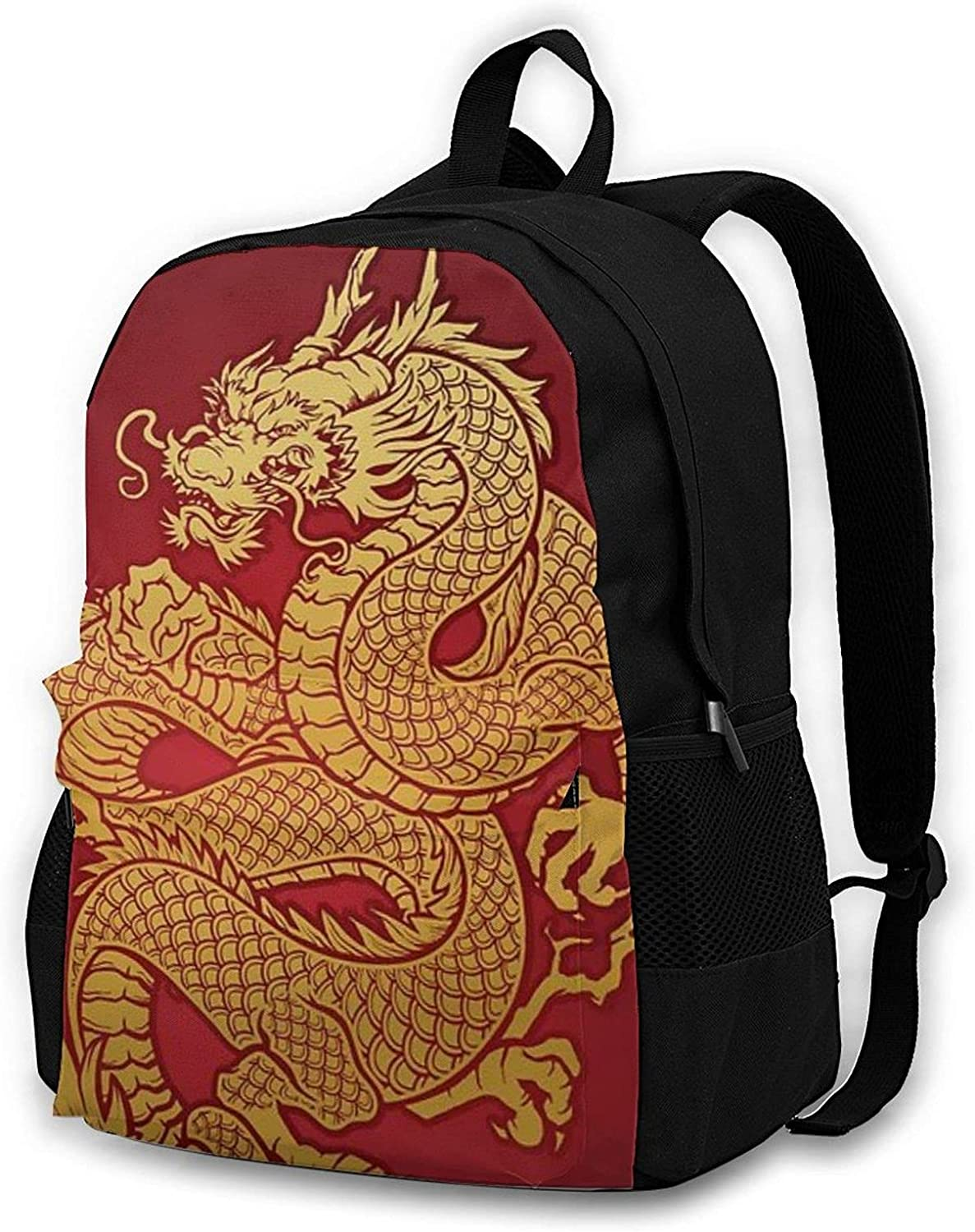 Traditional Outlet SALE Sale price Chinese Dragon Men's and Lightweig Women's Backpacks